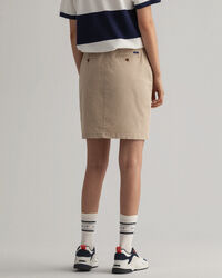 Slim fit Classic chino-nederdel