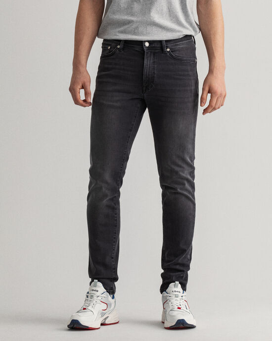 Maxen Extra Slim fit Active-Recover sorte jeans
