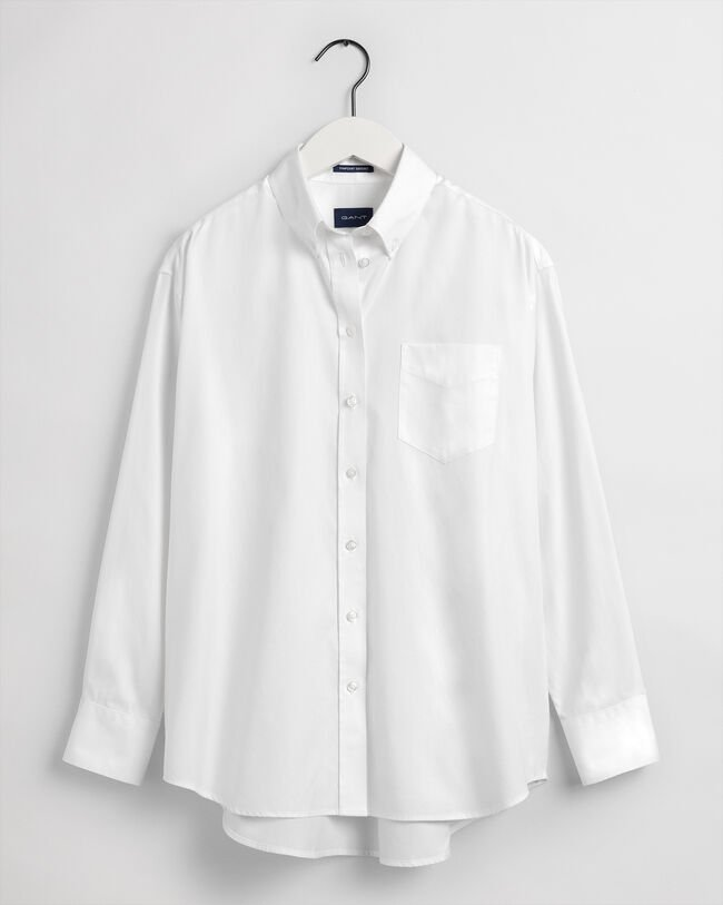 Relaxed fit pinpoint Oxford-skjorte
